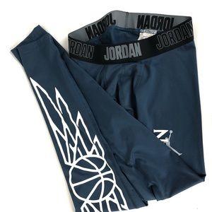 Jordan Dri Fit Training Compression Pant EUC M
